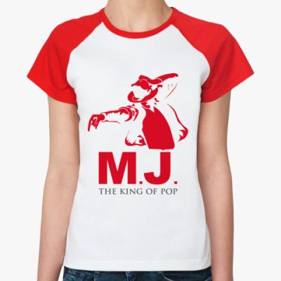 Женская футболка реглан MJ