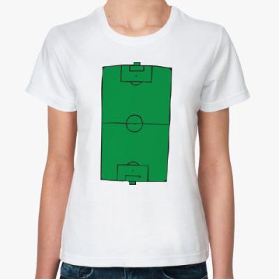 Классическая футболка  Футбольное поле
