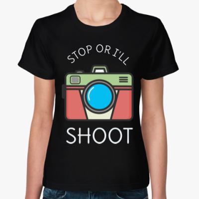 Женская футболка Фото