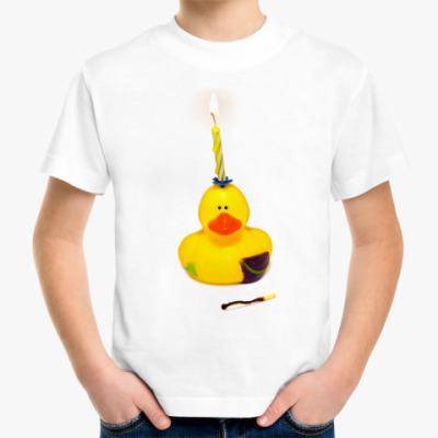 Детская футболка для именинника