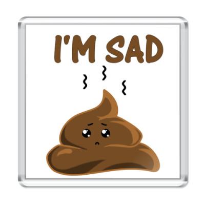 Магнит I'm sad shit