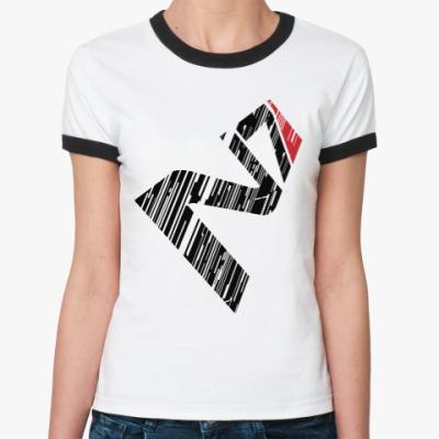 Женская футболка Ringer-T N7 Mass Effect
