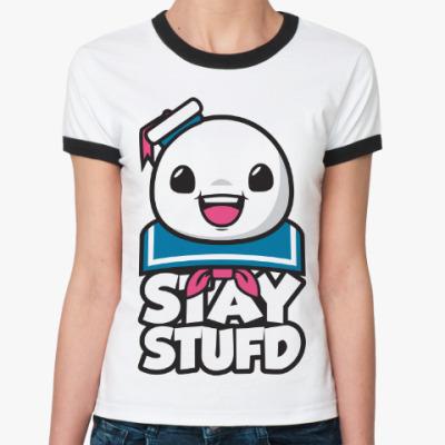 Женская футболка Ringer-T Stay Stufd