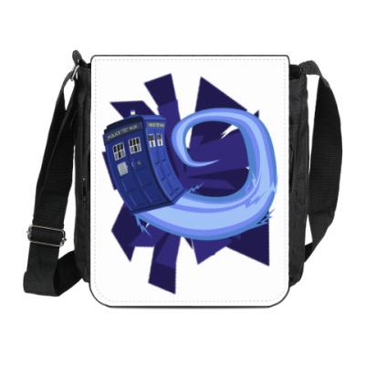 Сумка на плечо (мини-планшет) Doctor Who