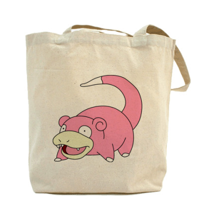 Холщовая сумка Slowpoke
