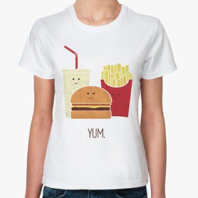Классическая футболка Фаст-фуд