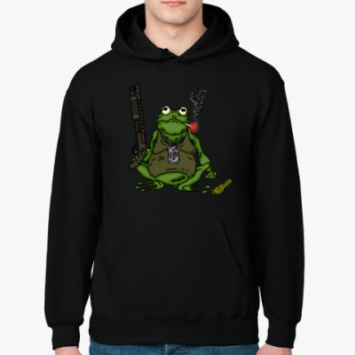 Толстовка худи Armed Toad