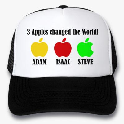 Кепка-тракер 3 яблока изменили мир