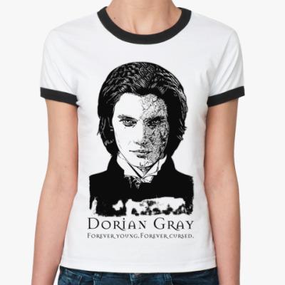 Женская футболка Ringer-T Dorian Gray