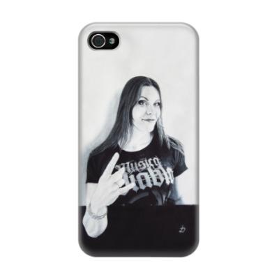 Чехол для iPhone 4/4s Floor Jansen