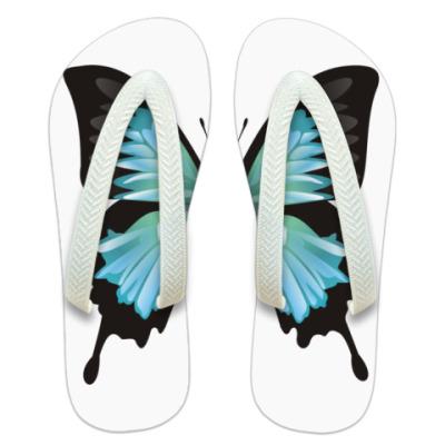 Шлепанцы (сланцы) Бабочка