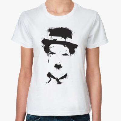 Классическая футболка Чарли Чаплин