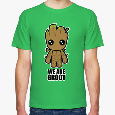 Футболка We are Groot