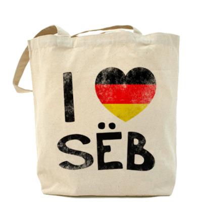 Сумка I LOVE SEB