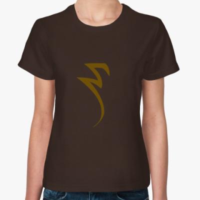 Женская футболка Сет