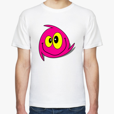 "Футболка футболка ""Чудик-pink"""
