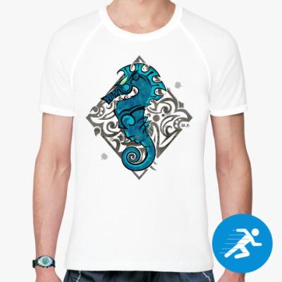 Спортивная футболка Морской Конь