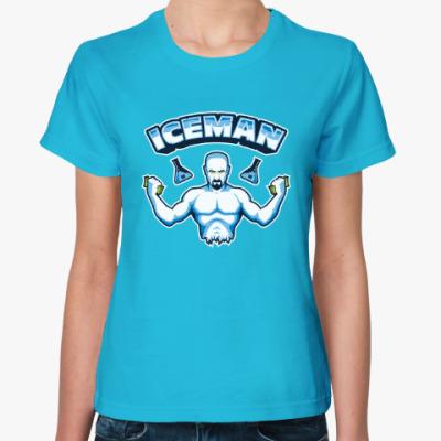 Женская футболка Iceman