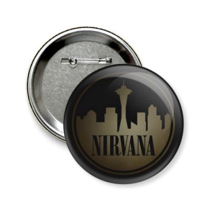 Значок 58мм Nirvana