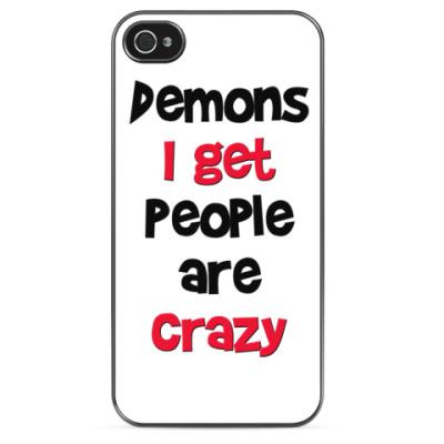 Чехол для iPhone Demons I get - Supernatural