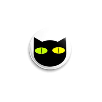 Значок 25мм Cat