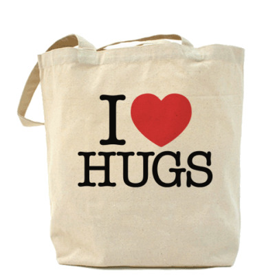Сумка I love HUGS