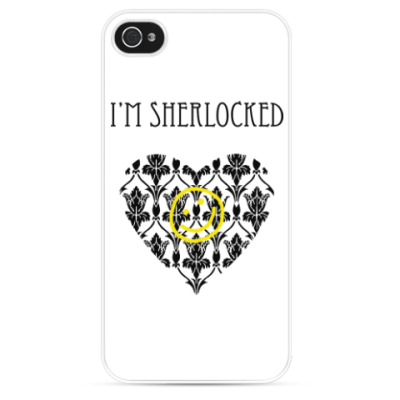 Чехол для iPhone Sherlock Шерлок Холмс