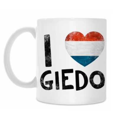 Кружка I LOVE GIEDO