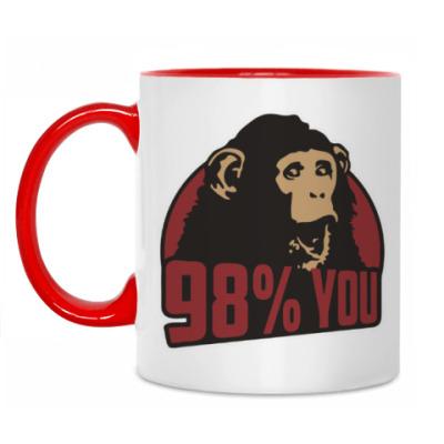 Кружка 98% тебя