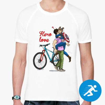 Спортивная футболка Hero-вая любовь