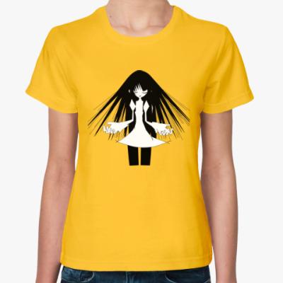 Женская футболка Monogatari