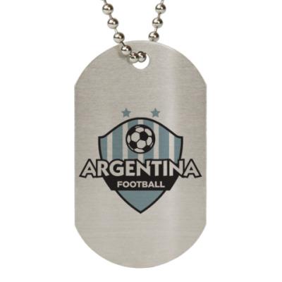 Жетон dog-tag Футбол Аргентины
