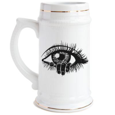 Пивная кружка Глаз