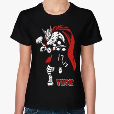 Женская футболка Тор (Thor)