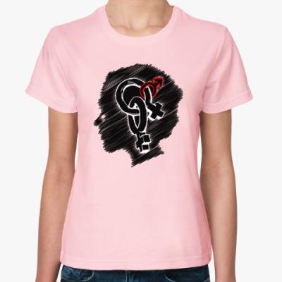 Женская футболка 2+1 Dreams