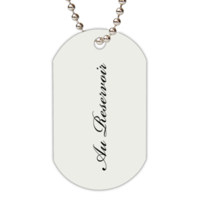 Жетон dog-tag Mapp & Lucia