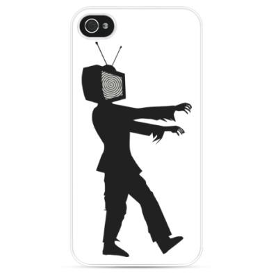 Чехол для iPhone Зомби ТВ