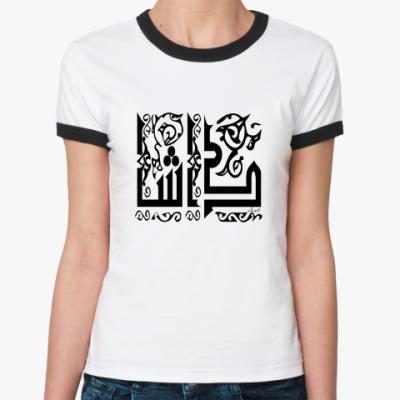 Женская футболка Ringer-T   Даша