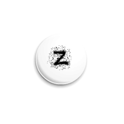 Значок 25мм  25 мм ThnkZ