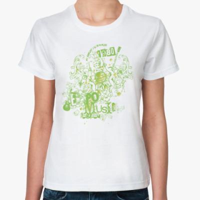 Классическая футболка Expo music