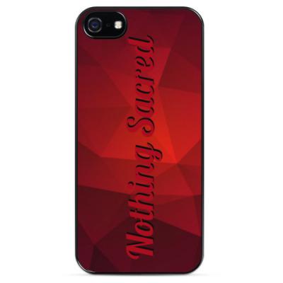 Чехол для iPhone Ничего Святого