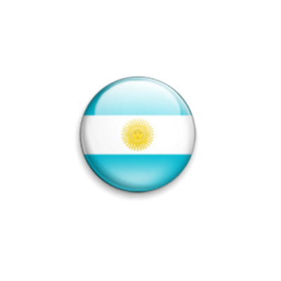 Значок 25мм Аргентина