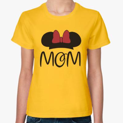 Женская футболка Mom
