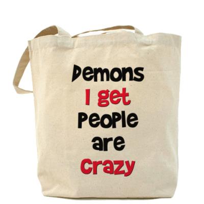 Сумка Demons I get - Supernatural
