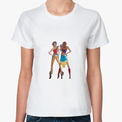 Классическая футболка Модели