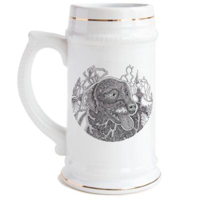 Пивная кружка Лабрадор