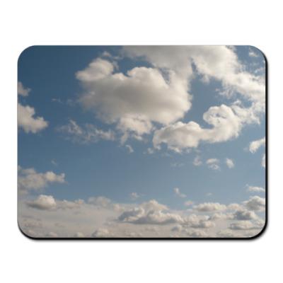 Коврик для мыши  Облака