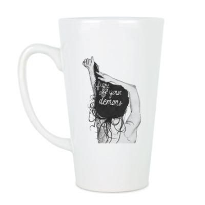 Чашка Латте Демон