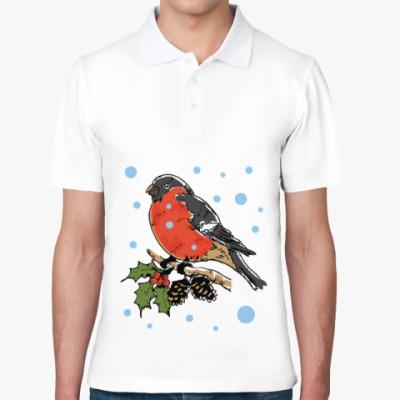 Рубашка поло Снегирь