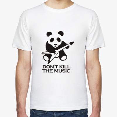Футболка Don't Kill The Music